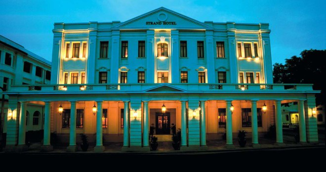 The Strand Hotel Yangon