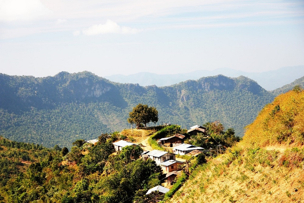 kalaw tours treks hiking walking