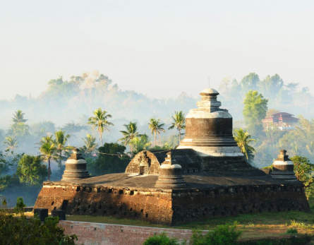 mrauk u temples and tours